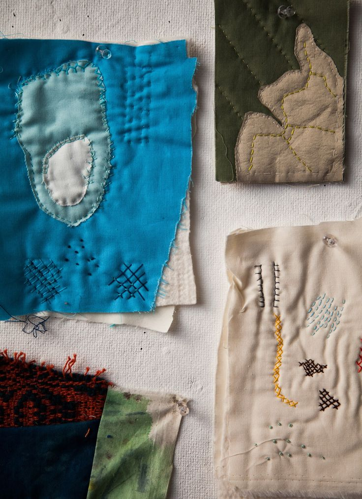 We're taking you inside the Brooklyn design studio of Haptic Lab and showing you the craftsmanship behind their unique quilts.