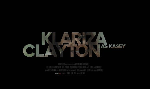 Klariza Clayton as Kasey in Blood Money