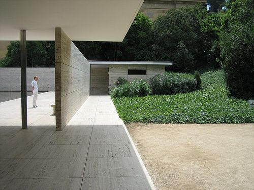 Ludwig Mies van der Rohe, Barcelona.