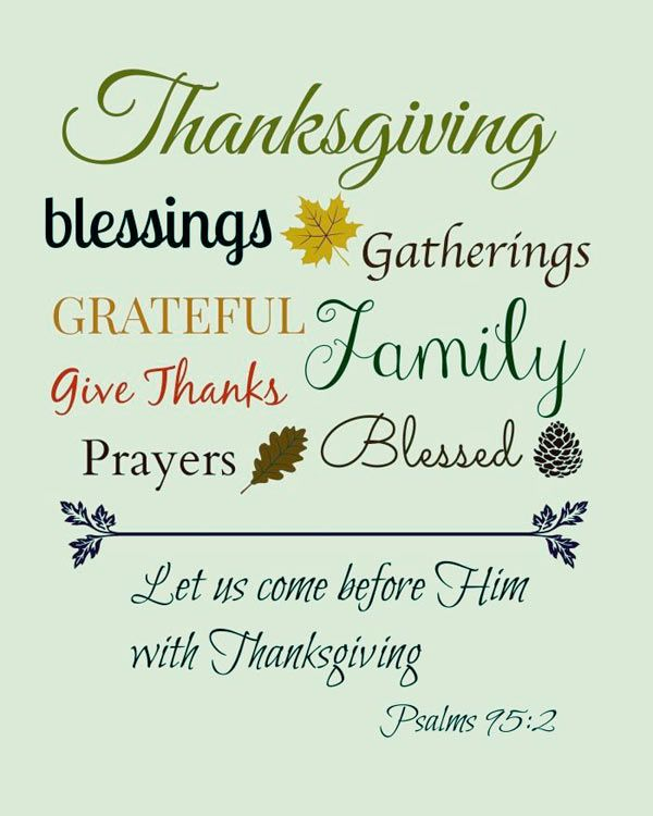 Christian Thanksgiving Clip Art