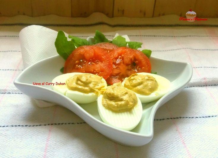 Uova al Curry Dukan: ci vuole poco per prepararle, ma offrono quella sensazione di gusto e appagamento che in un dieta di successo non deve mancare mai.