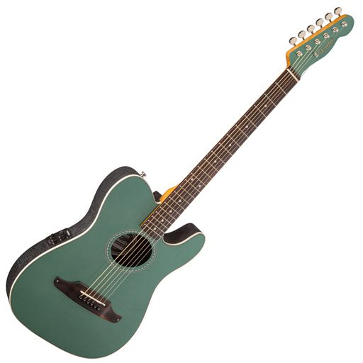 Fender Telecoustic Plus, Rosewood Fingerboard, Sherwood Green (Sale)