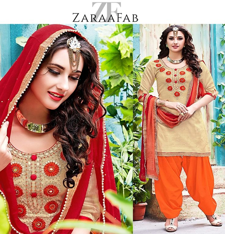 We have great varieties of patiala designer salwar kameez with beautiful cutting design patterns at exciting price range. Buy latest patiala salwar suits from the leading online clothing store in UK. Guranteed low prices in UK. #punjabisuit #indiandesignersuits #patialasuit #ethnic #punjabifashion #picoftheday