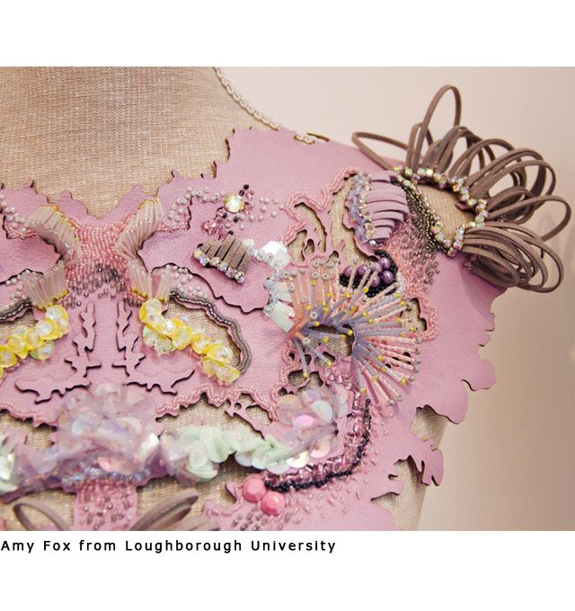 "MODECONNECT » New Designers 2013: Part One – ""Trapped""? Amy Fox graduate Loughborough University, UK"