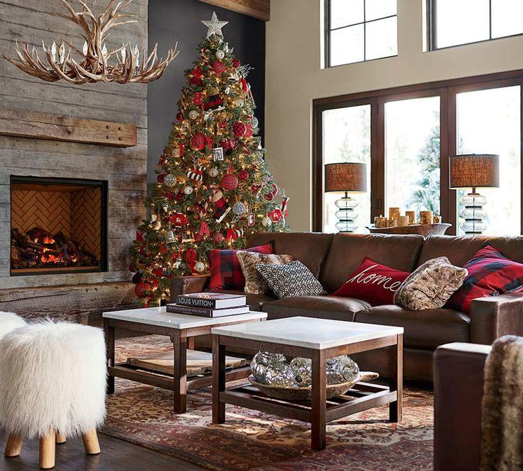 Cozy and simple for the holidays.  #christmas #decor homechanneltv.com