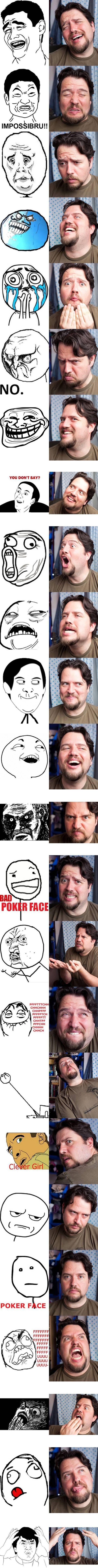 Funny Rage Comic Faces – 24 Pics