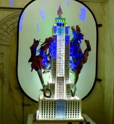 """Saatchi Art Artist Paolo Orlando; Sculpture, """"Spider Man A New York Empire State Building"""" #art"""