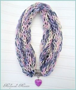 The Knitted Necklace Scarf