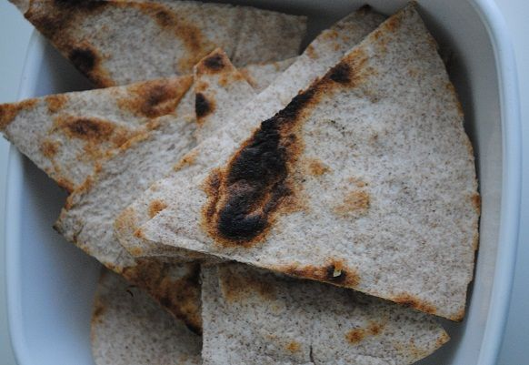 Bean Dip + Homemade Tortilla Chip Recipes | Homemade Tortilla Chips ...