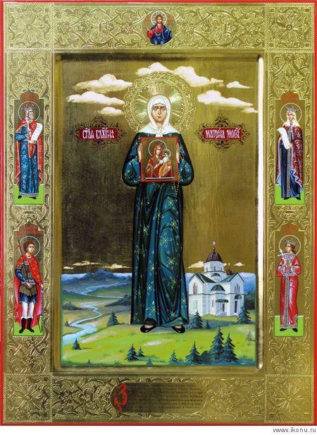Св. Матрона Московская (уникальное исполнение)