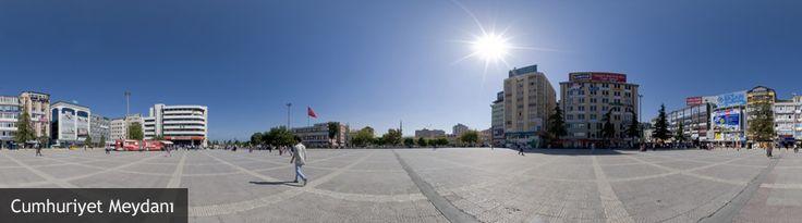 Cumhuriyet Meydanı 3D Gezinti
