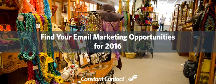 [Worksheet] Find Your Email Marketing Opportunities for 2016