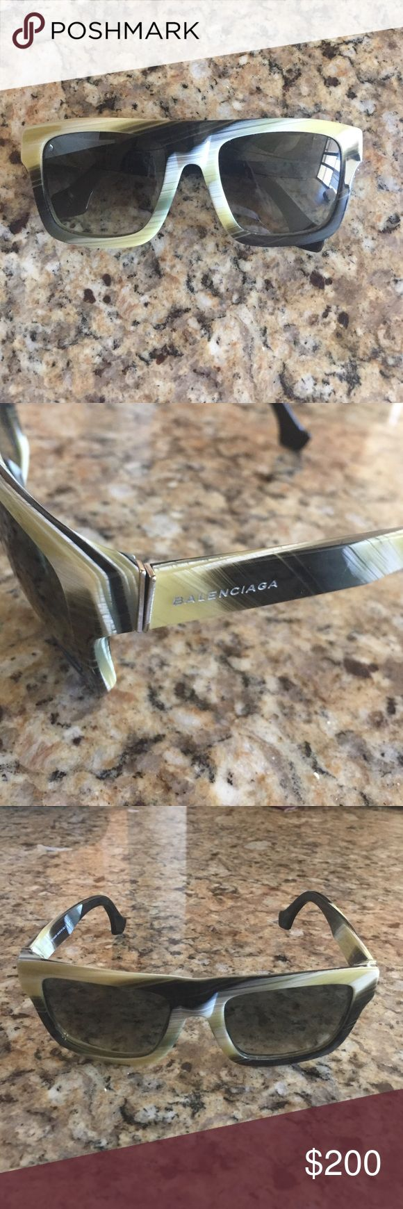 Balenciaga Sunglasses Fun Balenciaga Sunglasses. Worn once, great condition! Balenciaga Accessories Sunglasses