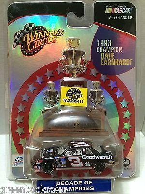 (TAS009411) - Nascar Winner's Circle Die Cast Car - Dale Earnhardt Sr.