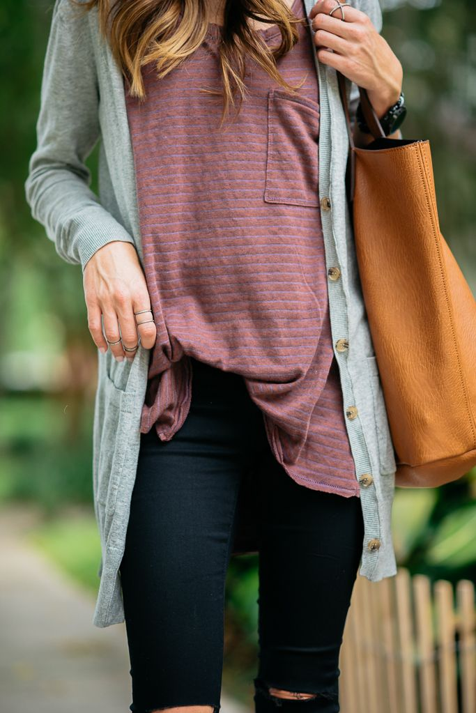 BLACK DISTRESSED DENIM + FALL OUTFIT INSPIRATION   Sequins & Things
