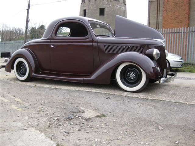 1936 Ford Coupe Craigslist Autos Weblog American Hot Rods Cars