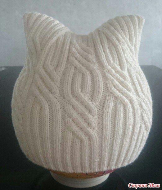 Мобильный LiveInternet ШАПКА-БИНИ с ушками от Виктории Литвинович | кошка-наглёжка - Дневник кошки-наглёжки |