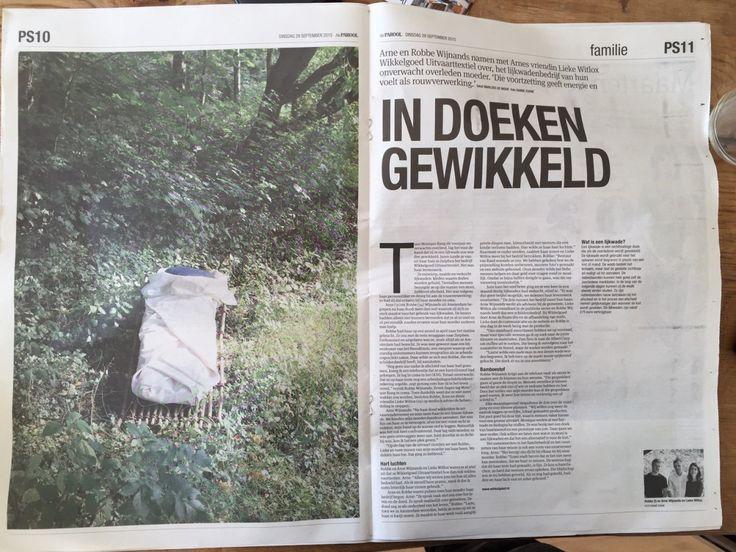 Het Parool over Wikkelgoed: 'In doeken gewikkeld'