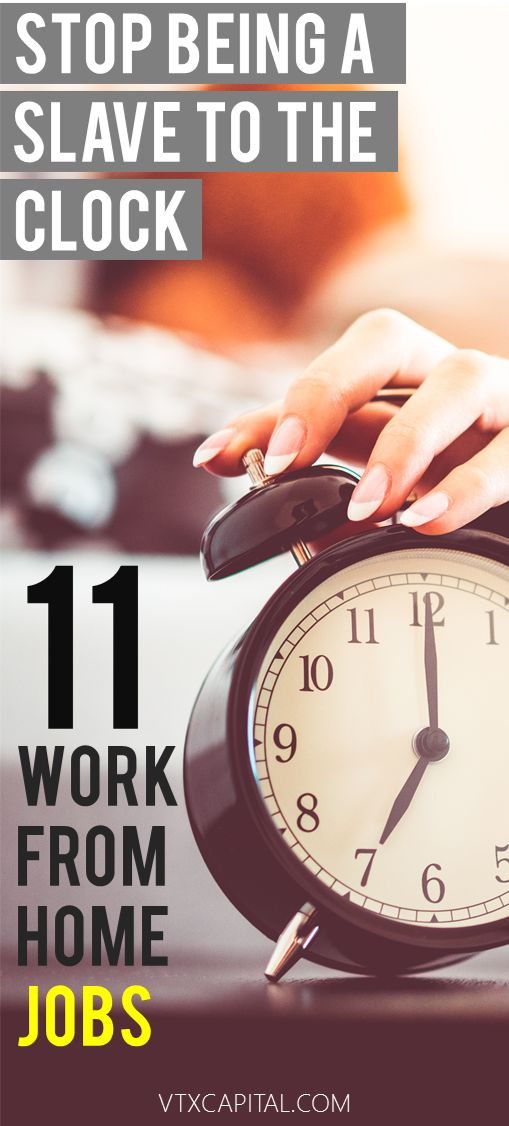 11 GREAT work from home jobs to make extra money. Earn a steady income from home or just start a side hustle today!