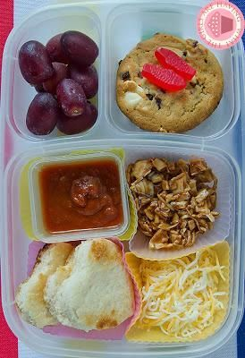DIY Lunchable..PIZZA!