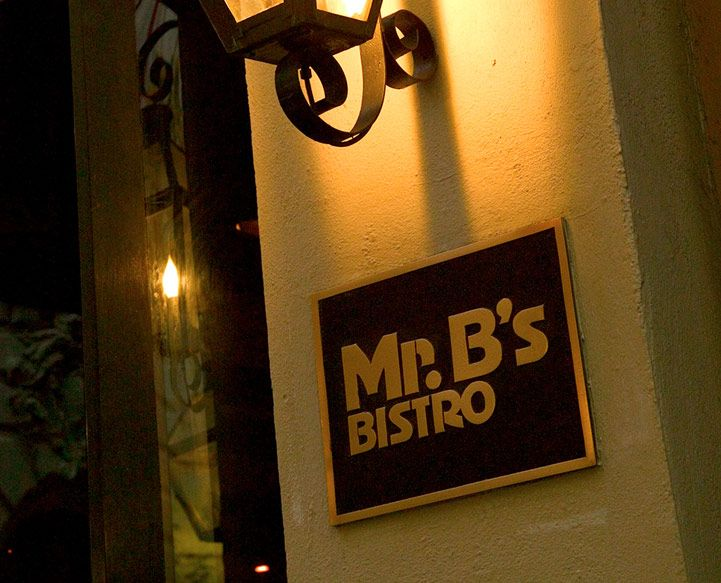 Mr. B's Bistro, Royal Street in New Orleans! Best Cajun food you can find! I got their signature dish cajun barbecued shrimp. Unbelievable. Can't wait to visit again!