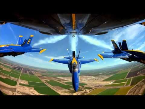"""THE BLUE ANGELS: Live Cockpit Footage: """"One of the best on YouTube"""" - YouTube"""
