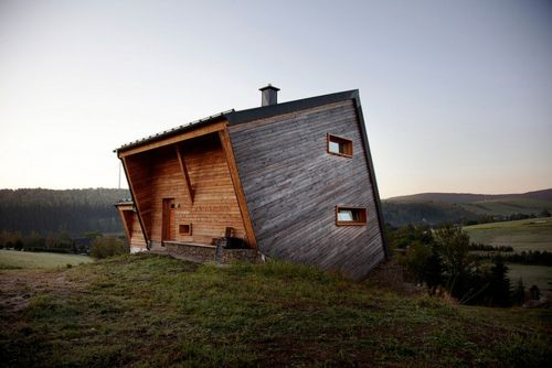 Hilltop houseSweets Home, Dreams, Little House, Up North, Modern Cabin, Boxes, Interiors Design, Modern Architecture, Wood House