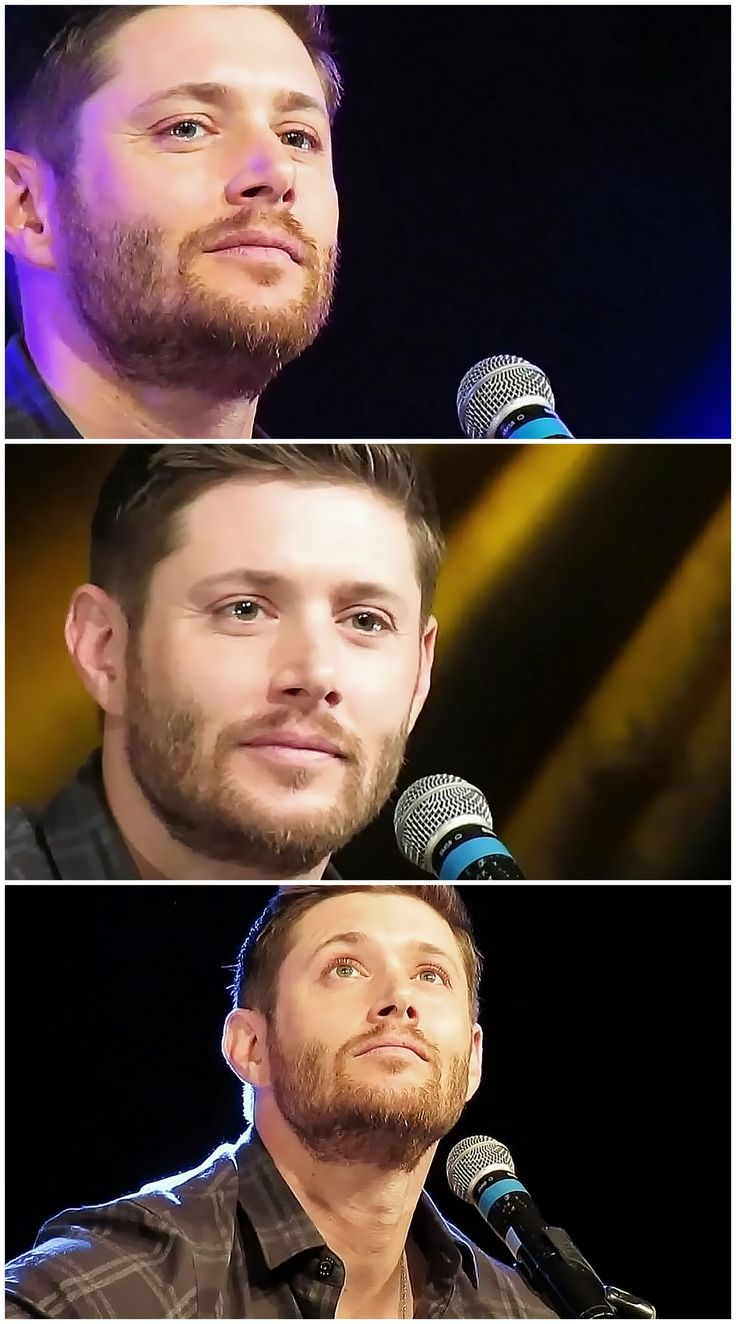 Jensen - JIBCon2015 when he was singing Sweet Home Alabama for Jared, the tears in his eyes and the way his voice broke at the end killed me inside :c