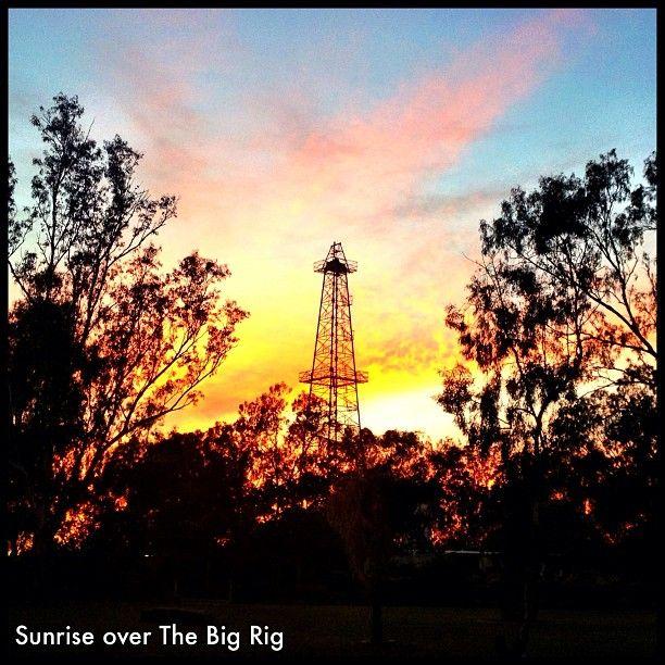 3.8 Degrees & Beautiful ~ A Winters morning at The Big Rig, #RomaQLD