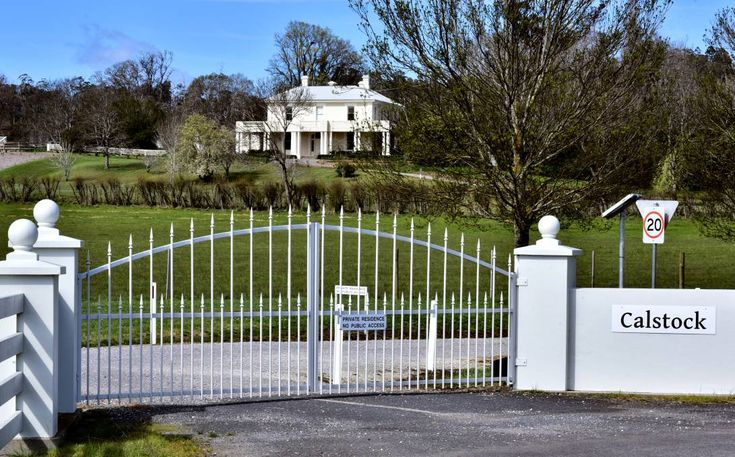 FOR SALE: Deloraine property Calstock was built in 1831 and has been used as a racehorse breeding stud, for cattle and as a sheep fattening farm. Picture: Neil Richardson