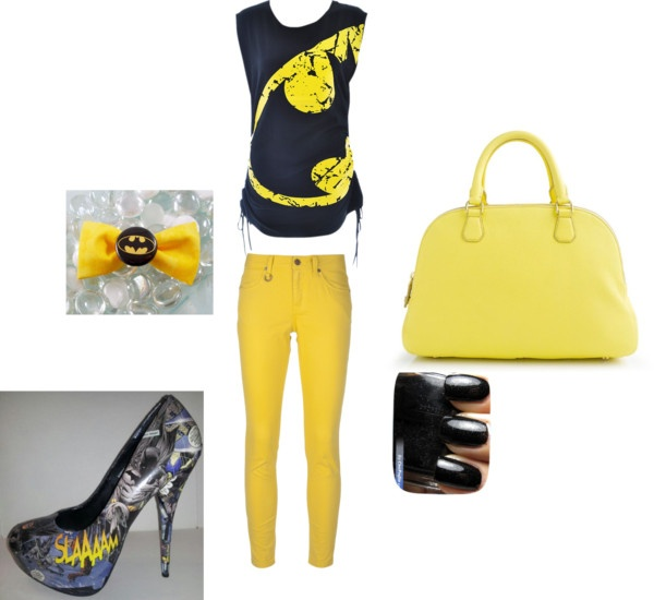 """Batman girl"" by aterri26 on Polyvore"