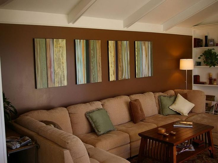 brown living room design paint ideas diseo de interiores giesendesign