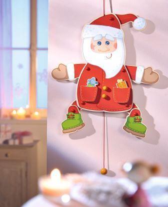 HABA Hampel-Weihnachtsmann (Artnr. 301386) www.haba.de