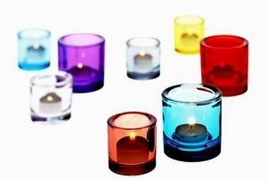 Iitala Kivi votives. I'm not sure it's possible to have too many of these.    (Image: Skandium)