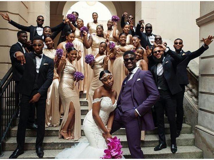 African American Wedding Celebration