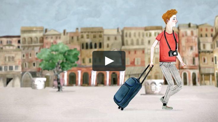 """Animated sequences from the documentary about the jewish ghetto of Venice: """"Il ghetto di Venezia - 500 anni di vita"""" directed by Emanuela Giordano written…"""