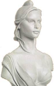 Buste de Marianne (Laétitia Casta!) par Marie-Pierre Deville-Chabrolle.