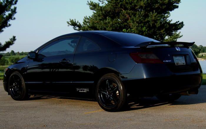 civic honda si blacked coupe 2007 accord sport cars wheels visit photobucket