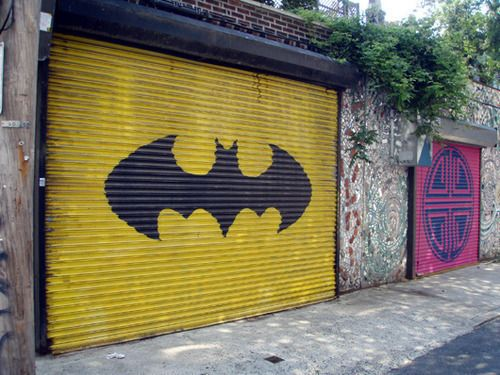 To the bat cave