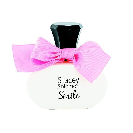 Stacey Solomon Smile Eau de Parfum Spray 100ml Stacey Solomon Smile is a floral feminine perfume. The fruity fragrance will not fail to lift any mood. Smile features a blends of mandarin, lemon, with a floral heart of vanillaorchid and exotic jasm http://www.MightGet.com/may-2017-1/stacey-solomon-smile-eau-de-parfum-spray-100ml.asp