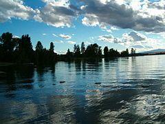 Lago Flathead - Wikipedia, la enciclopedia libre