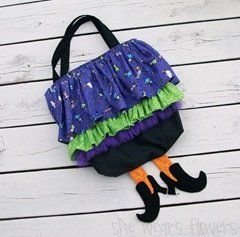 Witch Skirt Treat Bag