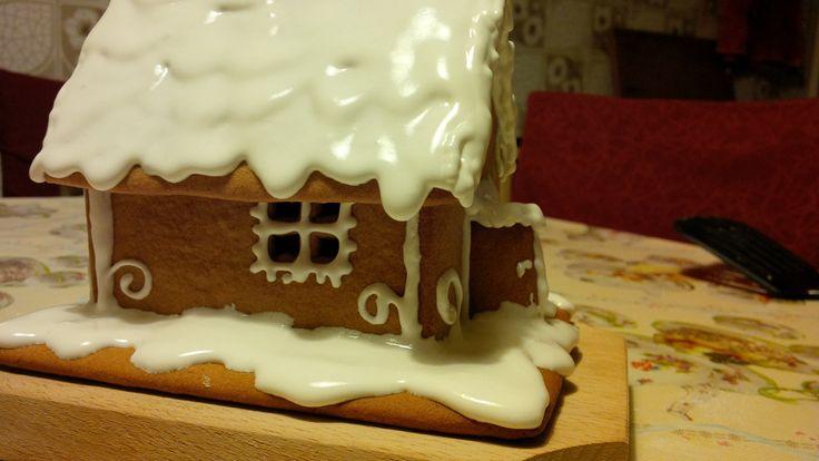 Mézeskalács házikó! Az első! :) Gingerbread house