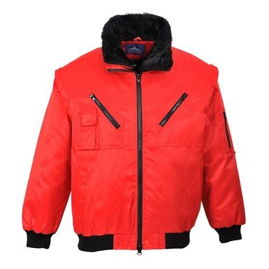 Excellent Portwest Zip-Out Pilots jacket, available in three colours! http://mammothworkwear.com/portwest-clothing/portwest-jackets/portwest-pilot-zip-out-jacket-p3687.htm