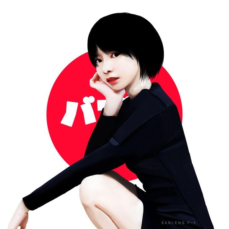 Bubble Gum Girl, Sableng アート on ArtStation at https://www.artstation.com/artwork/9dPRQ
