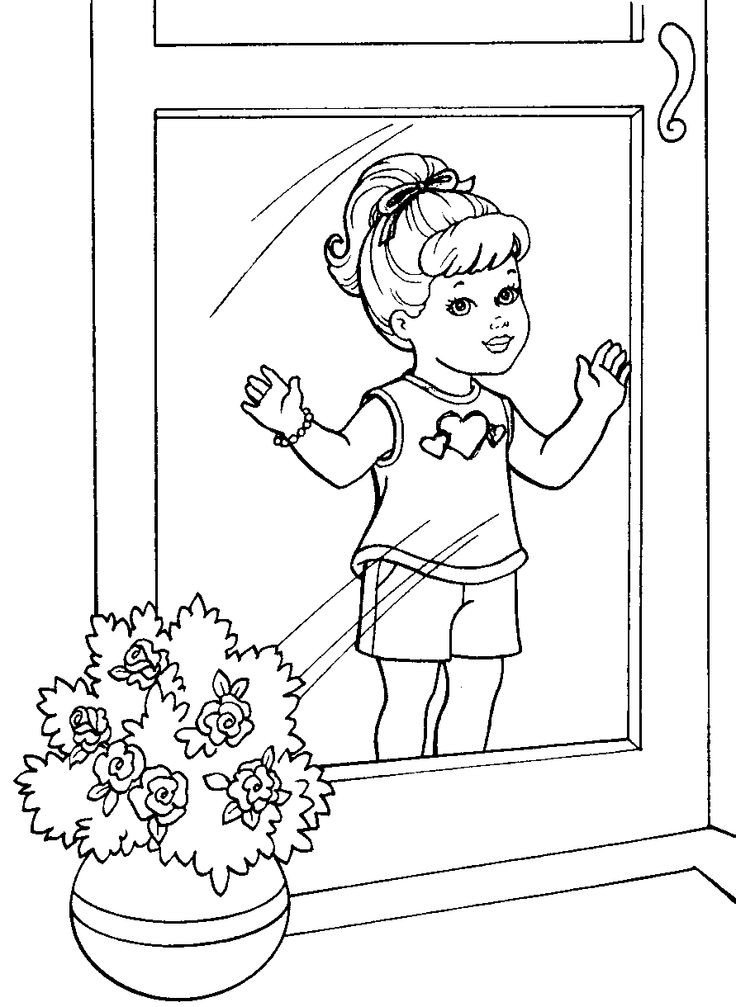 barbie kelly coloring pages - photo#9