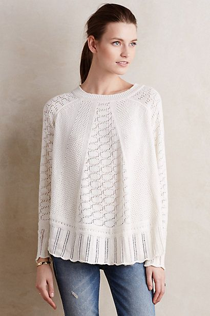 Nulia Circle Hem Poncho #anthropologie