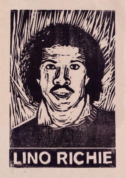 Lino Richie | John Scarratt Lino print 2 colour
