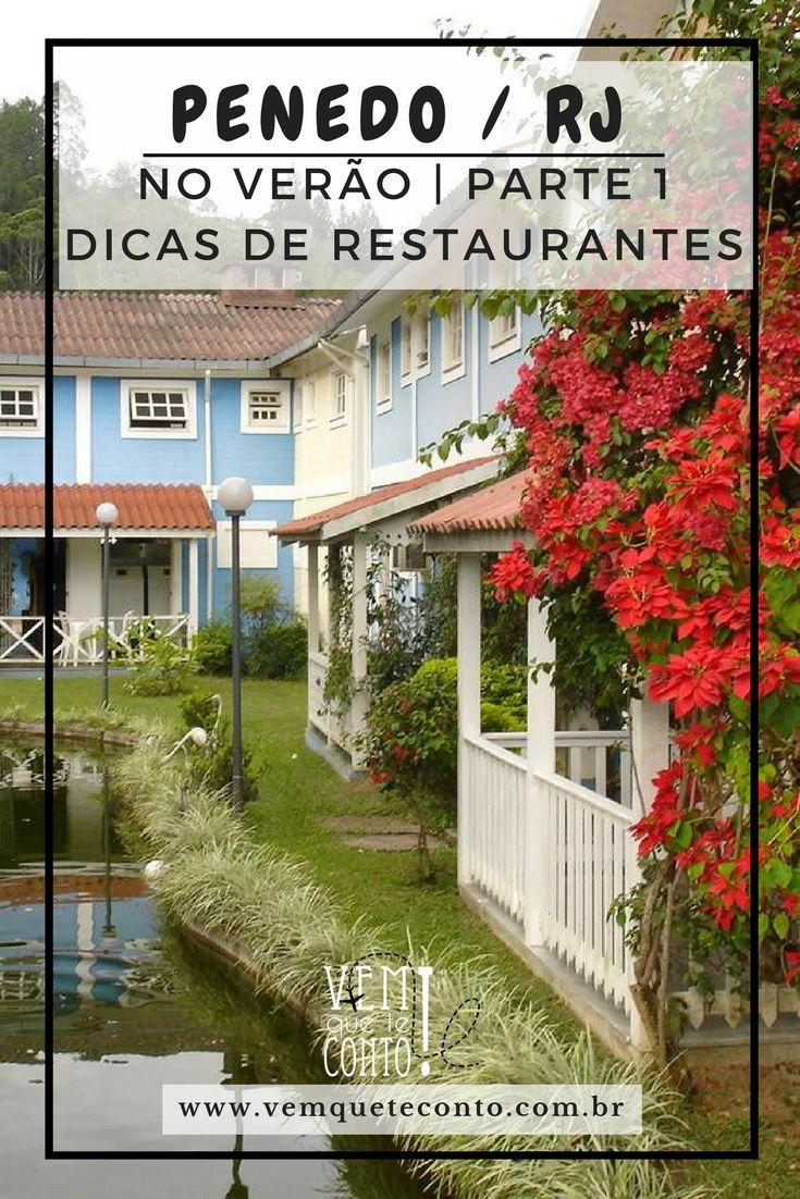 Penedo / RJ. Serra do Rio de Janeiro. Dicas de restaurantes.
