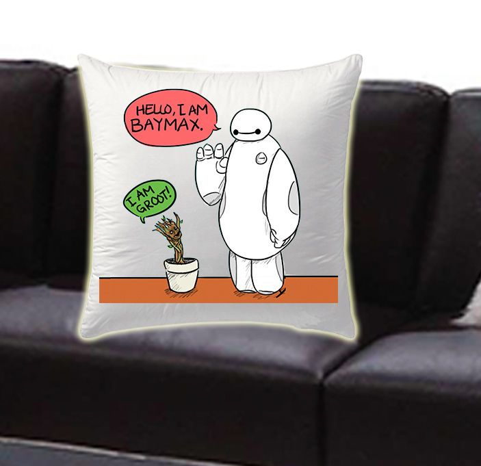 i am baymax i am groot new friends pillow cases #Modern